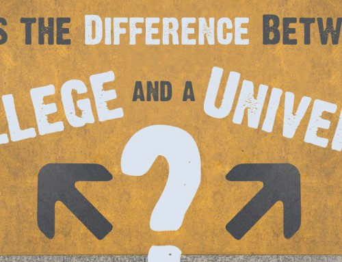 What is the difference between College and University?